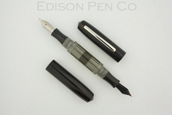 Double Ended Pearl in Black Acrylic with Dark Tinted Barrel