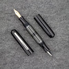 Double Ended Pen in Black Acrylic