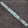 Double Ended Pearl in Mint Translucent Swirl Acrylic