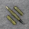 Double Ended Pen in Marigold Ebonite
