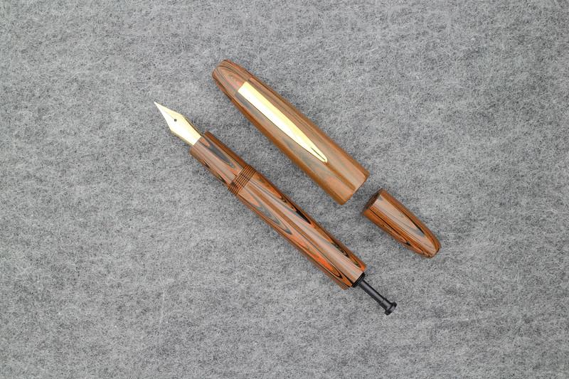 Herald Grande Draw Filler in Chestnut Ebonite