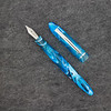 Menlo Draw Filler in Light Blue Swirl Translucent