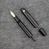 #76 Draw Filler in Black Ebonite with Spherical Roll Stop