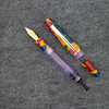 Menlo Draw Filler in Fingerpaints Swirl Acrylic with Transparent Purple ink view Barrel