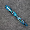 Collier Draw Filler in Blue Translucent Mesh Acrylic