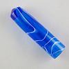 Swirl- Dark Blue Translucent