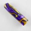 Swirl- Purple/Gold
