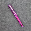 Beaumont Pneumatic in Magenta Translucent Swirl Acrylic