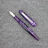 Menlo Pump Filler in Deep Violet Swirl Acrylic