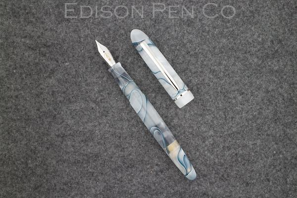 Menlo Pump Filler in Silver Marble Acrlyic
