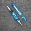 Menlo Pump Filler in Light Blue Translucent Swirl