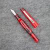 Morgan Pump Filler in Red Swirl Translucent