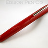Pearl Rollerball in Red Ebonite