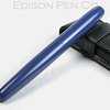 Pearl Rollerball in Blue Ebonite