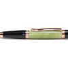 Sierra Button Click Pencil Bright Copper shown with Fir Green Rhinoplastic
