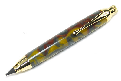 Sketch Pencil Gold shown with Precious Metal Bear Tooth Woods acrylic