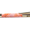 Tec Bolt Action Rifle Gold ballpoint shown with Pinky Pink Lava Lamp acrylic