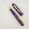 #76 in Purple/Gold Mottled Acrylic