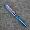 #76 in Striated Magenta / Electric Blue Acrylic