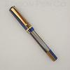 Beaumont Pump Filler in Golden Blue Striated Acrylic