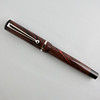Beaumont in Deep Red/Black Swirl Ebonite