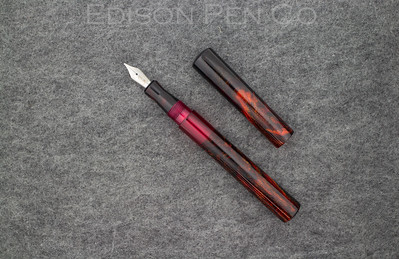 Extended Mina Level in Jonathon Brooks Combustion with solid red translucent ink window