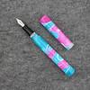 Extended Mina in Hawaiian (Uniforn Barf) Swirl Acrylic