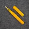 Extended Mina in Yellow Marigold Flake Acrylic