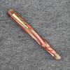 Glenmont in Beige/Red Swirl Acrylic