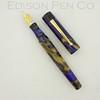 Glenmont in Purple/Gold Swirl Acrylic