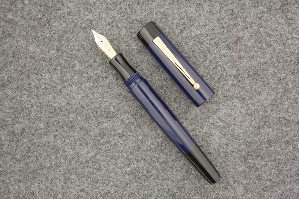 Glenmont Pump Filler in Navy Blue Acrylic