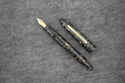 Herald Grande in Black/Gold Flake Acrylic