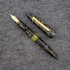 Herald Grande Draw Filler in Black/Gold Flecked Acrylic