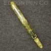 Menlo Pump Filler in Olive Swirl Translucent Acrylic