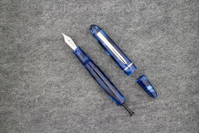 Menlo Draw Filler in Blue Steel Acrylic