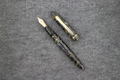 Menlo Draw Filler in Black/Gold Flake Acrylic