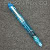 Menlo Pump Filler in Light Blue Translucent Swirl Acrylic