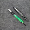 Menlo Draw Filler in Gecko Mesh Acrylic with Clear Gecko Mesh ink view Barrel