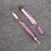Menlo Pump Filler in Translucent Pink Mesh Acrylic