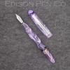 Menlo Pump Filler in Translucent Purple Swirl Acrylic