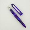 Menlo in Electric Blue Swirl Acrylic