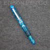 Menlo Pump Filler in Light Blue Translucent Swirl Acrylic