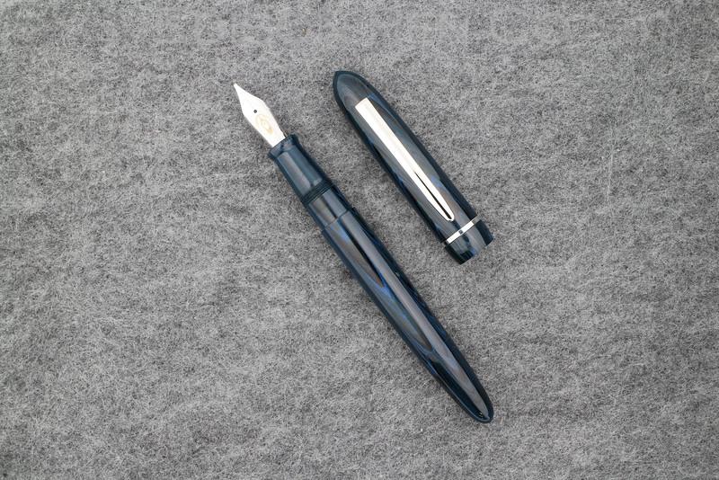 Menlo Draw Filler in Denim Ebonite
