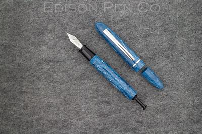 Menlo Draw Filler in Blue Agate Acrylic