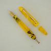 Menlo Pump Filler in Translucent Yellow Swirl Acrylic