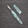 Pearl in Mint Translucent Swirl Acrylic