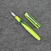 Pearlette in Green Yellow Striated Acrylic
