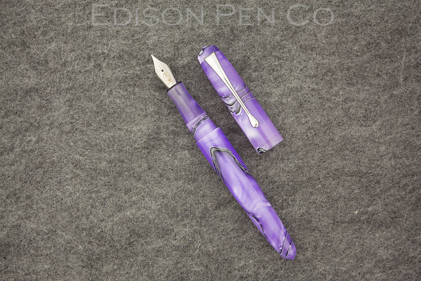 Pearlette in Purple Mesh Acrylic