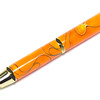 Woodworker's Pencil Gold shown with Tye Dye Bear Tooth Woods acrylic