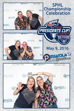 Pensacola Ice Flyers Championship Celebration 5-9-2016